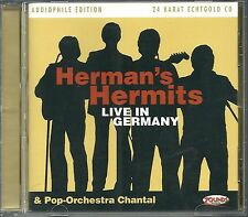 Herman 's Hermits & Chantal Live in Germany 24 krarat zounds Gold CD