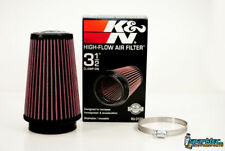 K&N Universal 3.5'' Air Intake Cone Filter 89mm RU-3130 Car/Truck/SUV NEW