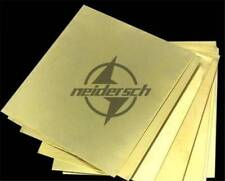 1PC 1.5mmx100mmx100mm Brass Metal Sheet Plate