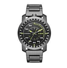 DZ1751 New Genuine DIESEL Rig Grey Stainless Steel Bracelet Watch RRP £165
