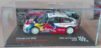 "DIE CAST "" CITROEN C4 WRC RALLY DE PORTUGAL - 2009 "" SCALA 1/43"