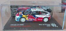 "DIE CAST "" CITROEN C4 WRC RALLY DE PORTUGAL - 2009 "" SCALA 1/43"