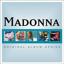 Original Album Series [Slipcase] by Madonna (CD, Mar-2012, 5 Discs, Warner Bros.)