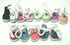 """Doll Shoes, 28mm Sneakers fit 8"""" Ginny, Kripplebush - Light Pink"""