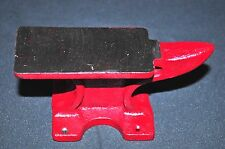 Vintage Mini Anvil  5.5 inch Cast Iron Miniature Blacksmithing Jewelry Tool