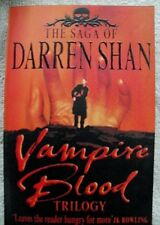 The Saga of Darren Shan - Vampire Blood Trilogy by Darren Shan (Paperback, 2003)