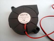 FAN Blower 12V 50mm zum Kühlen von Filament 3D Drucker.  Versand gleicher Tag
