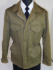 Vtg 40's Bronco Men ARMY M-43 FIELD Jacket WWII USA Military Coat CONMAR Zip 42