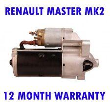 Renault master mk2 mk II 2.5 2000 2001 2002 2003 2004 - 2015 starter motor