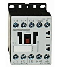 Contactor SCHRACK AC3: up to 5.5KW/12A/400V, Size S00 (100% Siemens compatible)