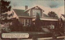 Sanford NC Evergreen Tourist Home Postcard