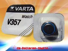 4 x Varta V357 SR44W SR44 V13GS 1,55V Silberoxid Uhrenbatterie Knopfzelle