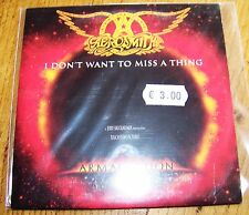 AEROSMITH I don't want to miss a thing - CD Single promo