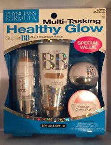 Physicians Formula Multi-Tasking Light/Med Kit 6622 Healthy Glow Super BB Makeup