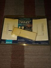 NEW LUTRON SPACER 600 WATT 3 WAY PRESET REMOTE CONTROL DIMMER KIT - WHITE