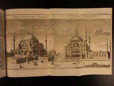1754 TURKEY Constantinople Turk Istanbul Illustrated HAGIA SOPHIA Persia Turkish
