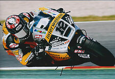 Thomas LUTHI SIGNED Autograph 12x8 Photo AFTAL COA MOTO 2 SUTER Paddock Racing