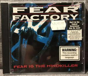 FEAR FACTORY Fear Is The Mindkiller CD 1993 Australia RR908-2 *Disc Mint*