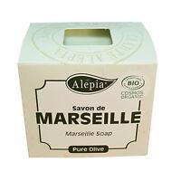 Lot de 4: Savon de Marseille BIO artisanal pure olive
