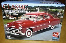 Amt Ertl Classic 1951 Chevy Fleetline Model Kit 1/25 Unbuilt Complete 2006