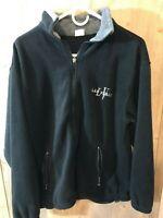 LAS VEGAS Logo Mens Large Jacket Fleece Black Gray