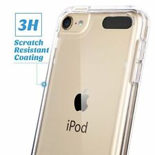 Ultra Thin Gel Case + Tempered Glass Cover For Apple iPod Touch 6th & Touch 5