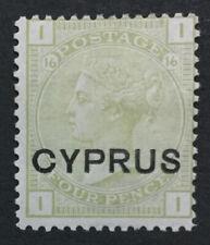 MOMEN: CYPRUS SG #4 MINT OG H LOT #193171-1686