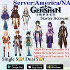America/NA Server Genshin Impact Venti Kazuha Baal Ayaka Diluc Eula Hu Tao Xiao