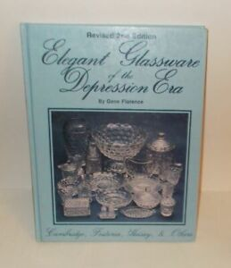 Elegant Depression Glass 2nd Edition Reference Book & Price Guide