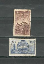 R2368 - FRANCIA 1938 - LOTTO MINATORI, REALI INGLESI N°390/400 - VEDI FOTO