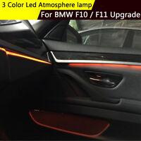 Blue & Orange Ambient Door Light  Decorative LED Lamp Strips For BMW  F10 / F11