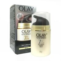 Olay Total Effects Day Cream Moisturiser 7-In-1 Anti-Ageing SPF15 Sunscreen 50g