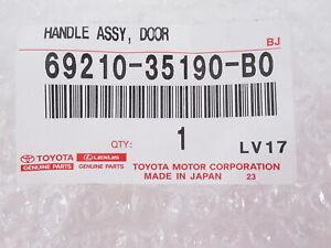 Genuine OEM Toyota 69210-35190-B0 Front Outside Handle Assy 2010-2019 4Runner