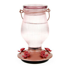 Perky-Pet® Rose Gold Top-Fill Glass Hummingbird Feeder 24 oz