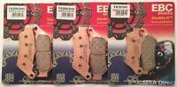 EBC Sintered FRONT & REAR Brake Pads Fits KTM ADVENTURE 950 / 990 (2002 to 2012)