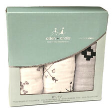 Aden And Anais Mini Musy 100% cotton Muslin Squares (lovestruck)