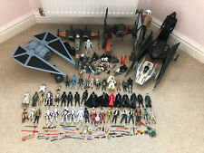 Star Wars Action Figures Vehicles Collection Job Lot Force Awakens Rogue One