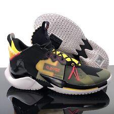 NEW Nike Jordan Why Not Zer0.2 SE Shoes Blk/Gold/Olive AQ3562-002  Mens Size 14