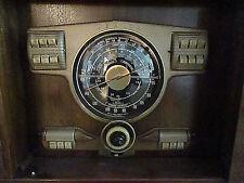 Mid Century Modern Antique Radio 1940 S Am Fm Radio Phonograph Console Zenith