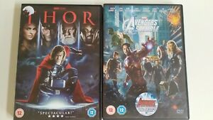 DVD Thor Avengers Assemble Marvel Universe Comic Superhero Disney