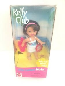 New in Box Mattel 1999 Barbie Doll Kelly Club Little Swimmer Marisa