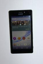 Sony XPERIA M2 Aqua D2403 Schwarz (Ohne Simlock) Smartphone an Bastler