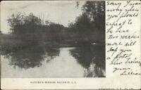 Baldwin Long Island NY Nature's Mirror c1910 Postcard