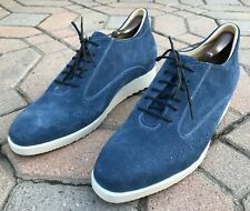MST RL-Don's Classic Blue Swede Elevator Premium Shoes -12