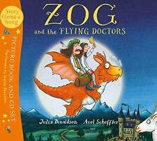 Zog and the Flying Doctors Book and CD (Book & CD) New Paperback Book