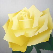 Janet Hardt, Yellow Rose - Limited Edition Original Silkscreen - Dramatic image