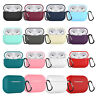 Silicone Case Shockproof Full Protective Cover for Airpods Pro Wireless Earphone