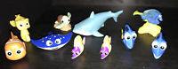 Disney Pixar Finding Nemo Dory Shark PVC cup cake Fish Figure Figurine Toy LOT