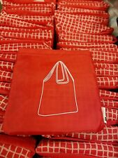 IKEA Foldable Pocket Reusable Red Shopping Tote Gift Bag- Great for this holiday