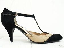 MINOZZI Milano ❤ Damen Sandaletten Gr. 41 Pumps Leder Leather Shoes High Heels